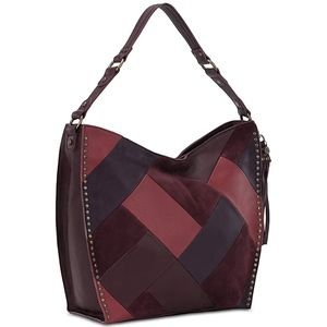 The Sak Silverlake Patchwork Hobo Bag, Cabernet
